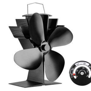 log burner fan