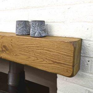Rustic Oak Mantel – 10cm x 15cm