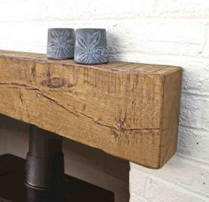 Rustic Oak Mantel – 10cm x 20cm